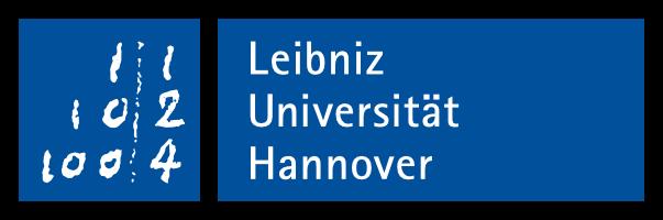 Logo Gottfreid Wilhelm Leibniz University Hannover